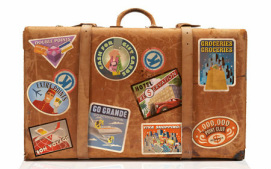 Frequent Flyer suitcase