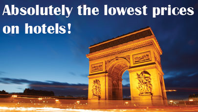 Lowest hotel prices with AeroCompare